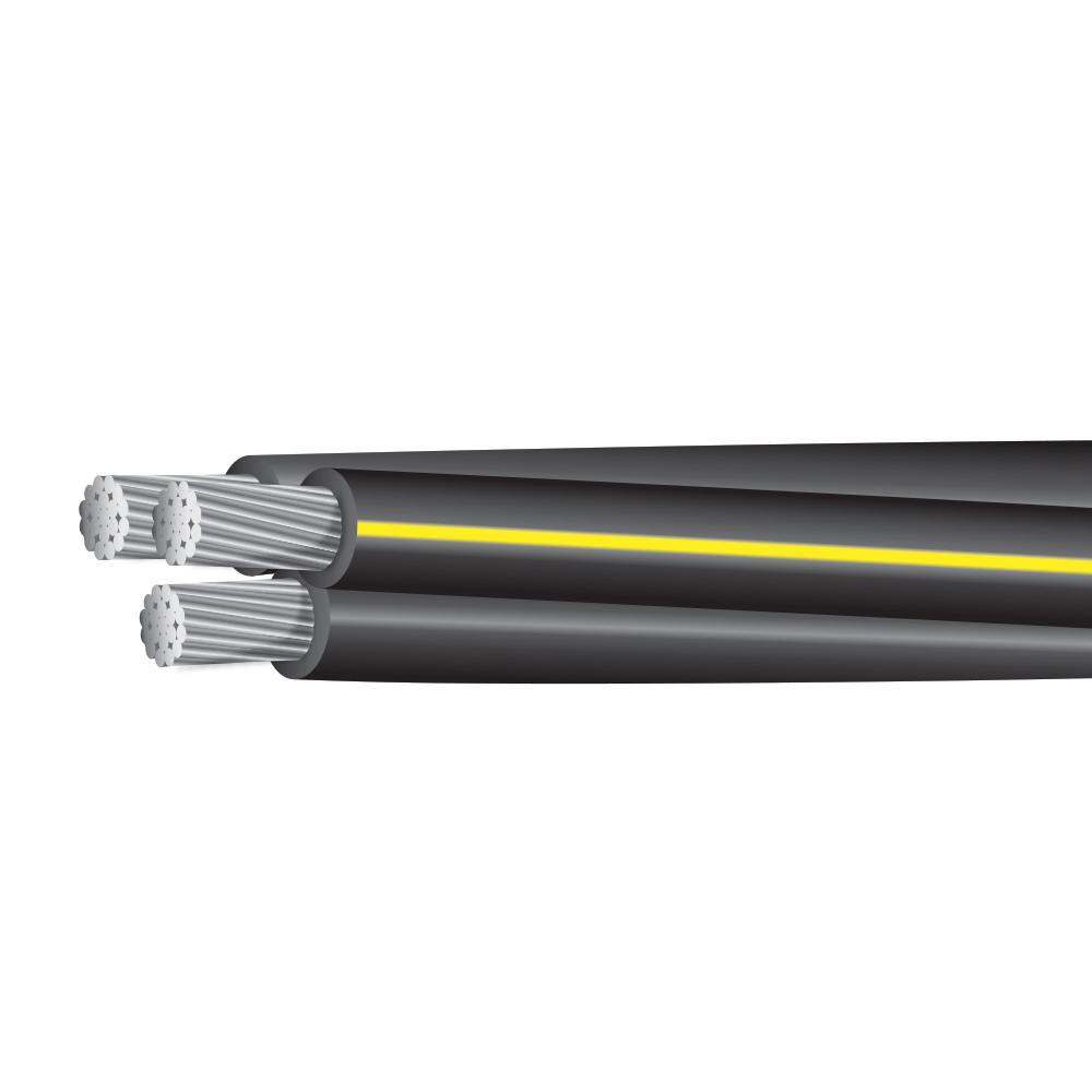 """500MCM-500MCM-350MCM ALUMINUM UD TRIPLEX 600 VOLTS CODE """"RIDER"""""""