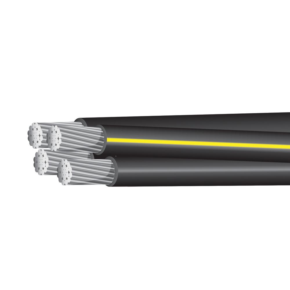 Aluminum Cables - Aluminum Underground Quadraplex