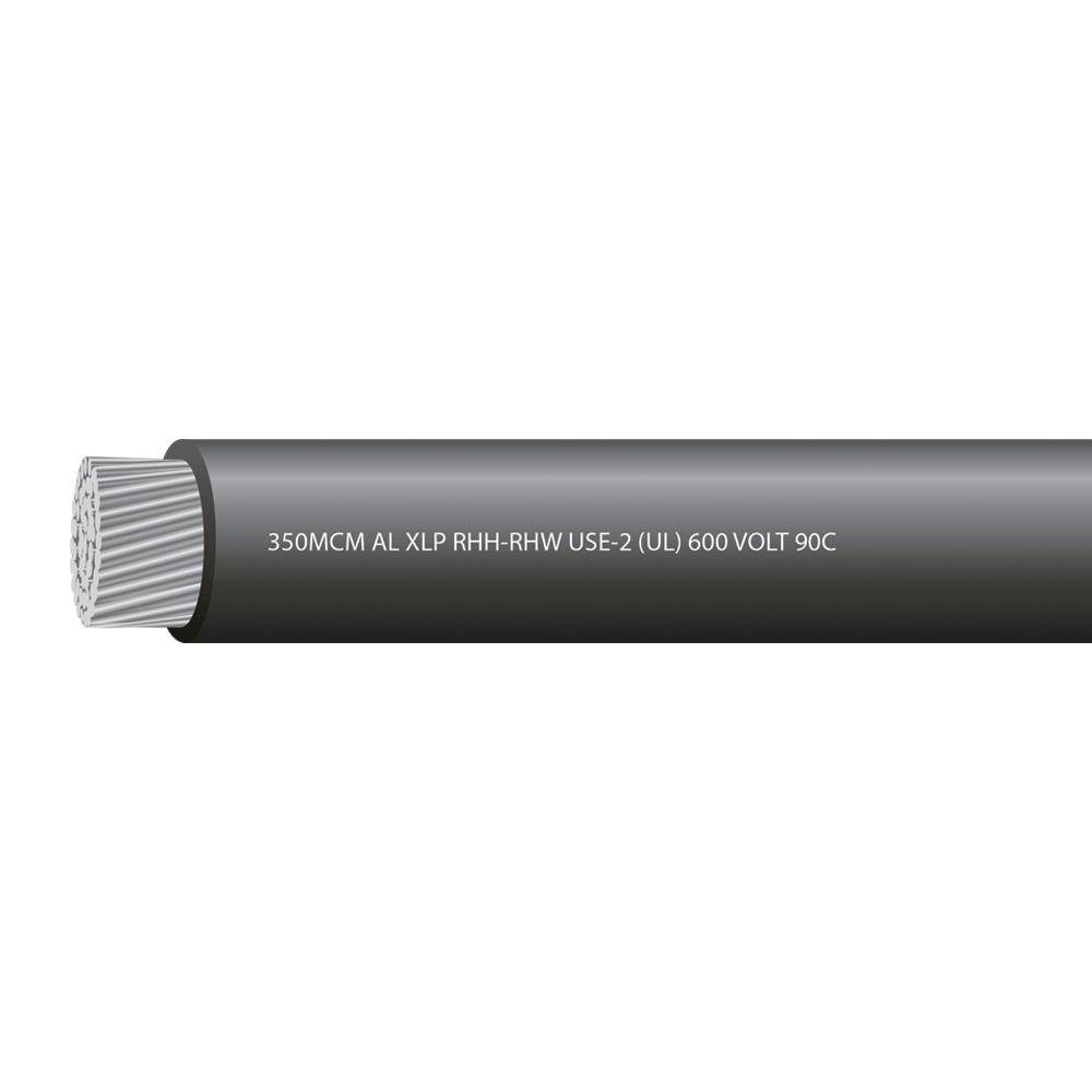 350MCM ALUMINUM USE 600 VOLTS 90C