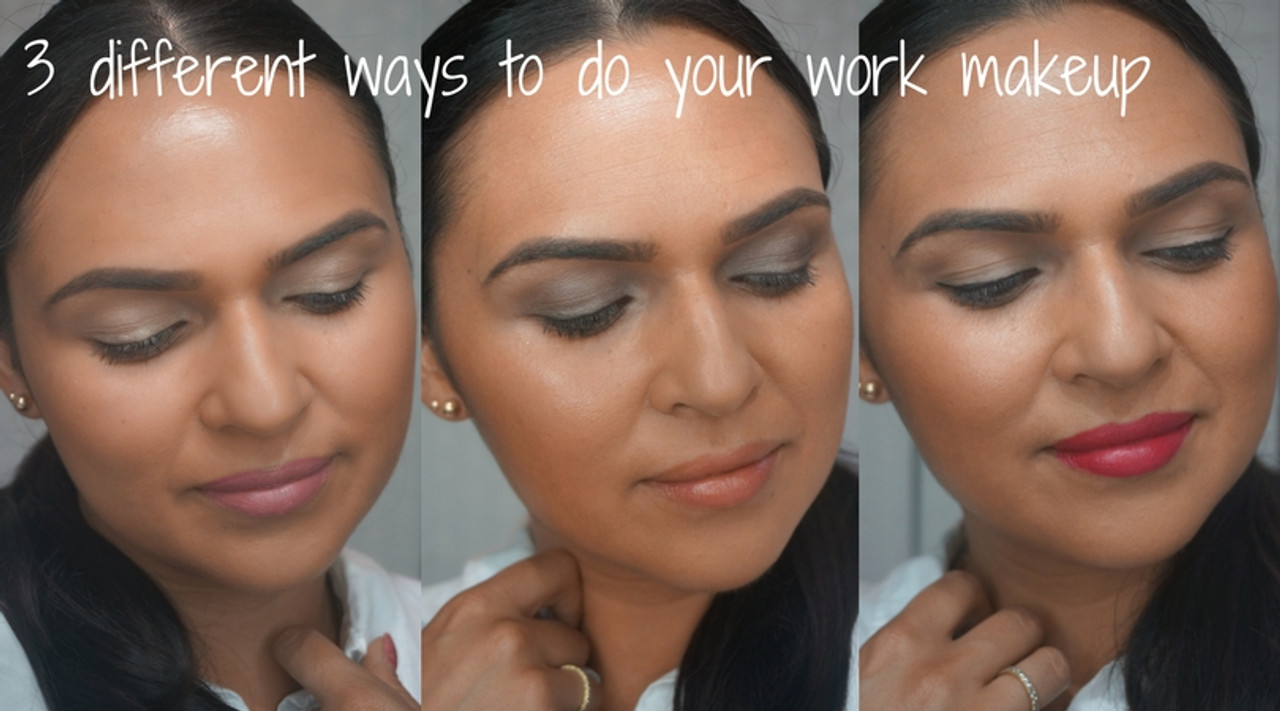 HOW TO: 3 different ways to do your work makeup