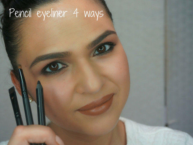 HOW TO: 4 ways to apply Pencil eyeliner