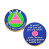 SLAA Recovery Medallion - Sex and Love Addicts Anonymous
