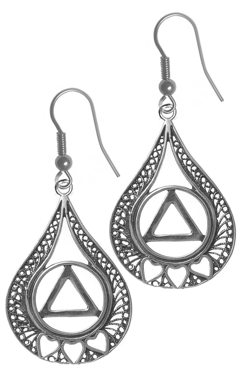 products symbol drop native sliver knot love by for with celtic eternity silver liwu collection earrings