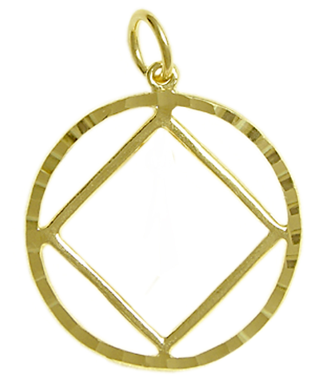 Style 361 9 14k gold pendant na symbol in a diamond cut circle style 361 9 14k gold pendant na symbol in a diamond cut buycottarizona Image collections