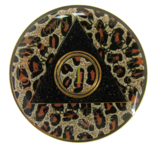 Specialty AA Coin- Animal Print!