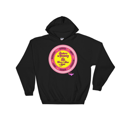 Sisters In Recovery - Never Alone Again Women's Hooded Sweatshirt