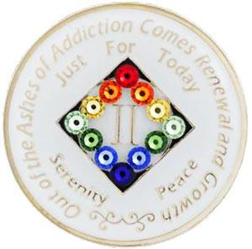 NA GLOW in the DARK Medallion (Yrs 1-40)