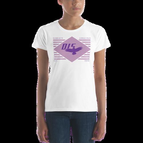 Sobriety  Conscious Women's Short Sleeve T-shirt