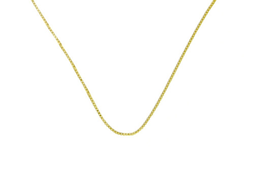 Style #213-14, $105-$125, Lt. Box Chain, 14k Gold, Available in 3 Different Sizes