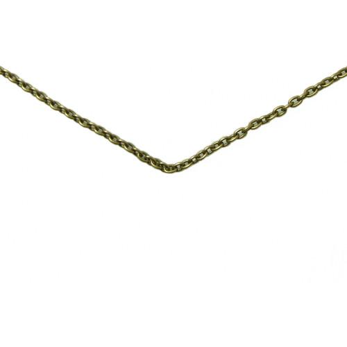 """20"""" brass chain"""