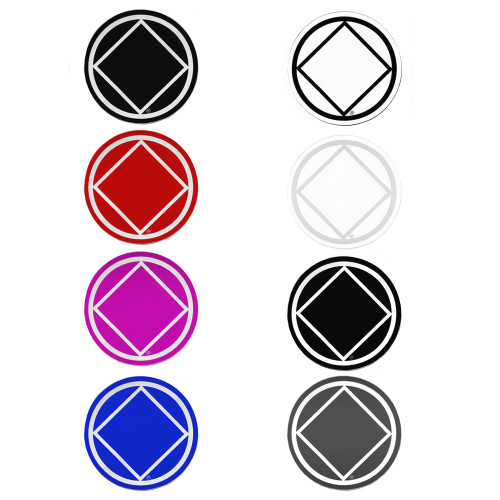 narcotics anonymous stickers 8 pack