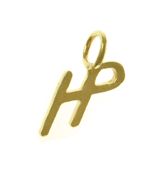"Style #504-15, 14k Gold, Sayings Pendant, Initials ""HP"", Higher Powered"