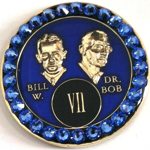 CRYSTALLIZED BLUE BILL & BOB TRIPLATE AA Blue