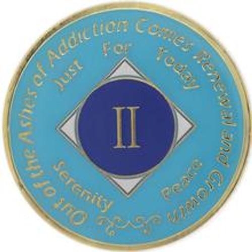 NA Turquoise Medallion (Yrs 1-40)