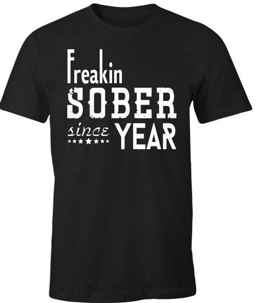 For all of my AA - Alcoholics Anonymous friends with a sober date get your customer recovery tee!