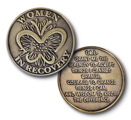 Women in Recovery Coin, Bronze Specialty Recovery coin
