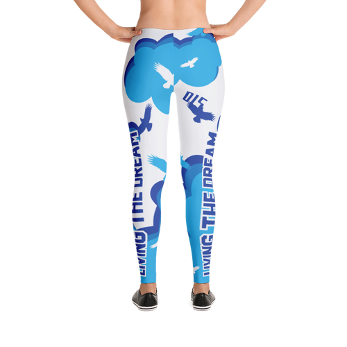 "Women's ""Living The Dream"" Leggings - Soft and Flattering!"
