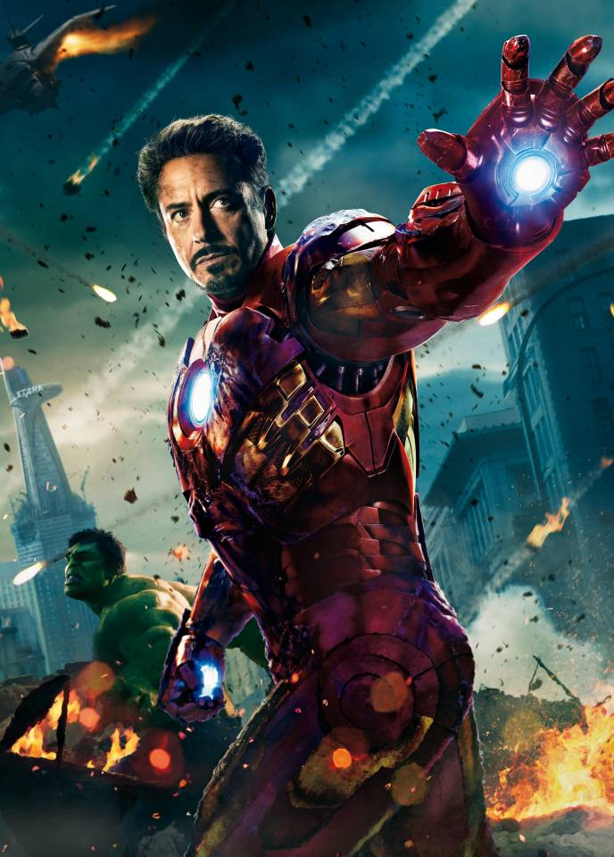 How robert downey walked the path of iron man doing it sober - Iron man heart wallpaper ...