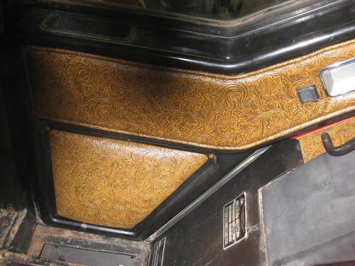 Western Door Panel - Installed ... & Door Panel for 86/88 International Harvester - Tractor Interior ...