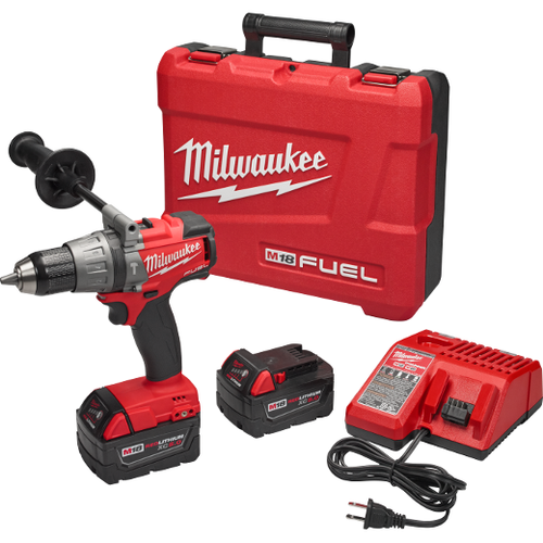 "Milwaukee M18 FUEL™ 1/2"" HAMMER DRILL/DRIVER KIT"