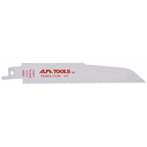 "Alfa Tools 12"" 6TPI DEMOLITION SAW BLADE POUCHED"