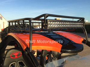 """Renli Buggy Roof Rack and 22"""" Curved LED Light Bar"""