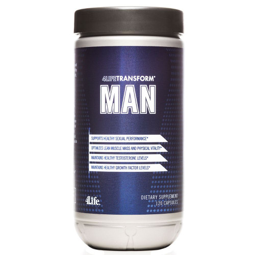 4life Transform Man 120 Count Bottle