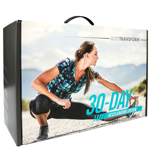 30 day accelerator pack for woman.  lose weight and transform in 30 days
