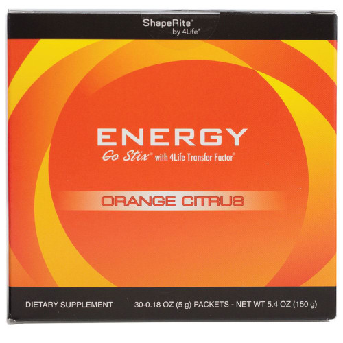 Energy Orange Citrus supplemental facts