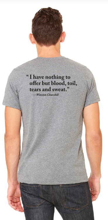 Blood, Toil, Tears and Sweat T-Shirt