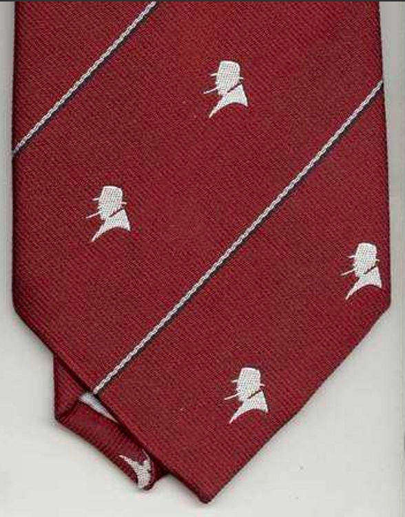 Red Churchill Necktie
