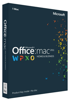 Office for Mac 2011, Home and Business, Full Retail Version
