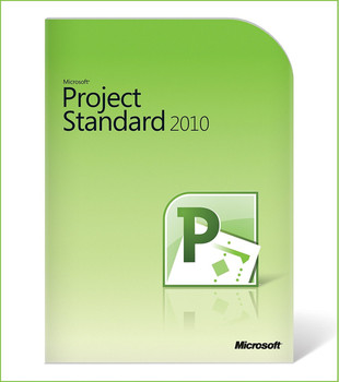 Microsoft Project Standard 2010, 32/64 Bit, Full Retail Version, Instant Download