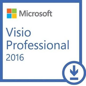 Microsoft Visio Professional 2016, 32/64 Bit, Full Retail Version, Instant Download