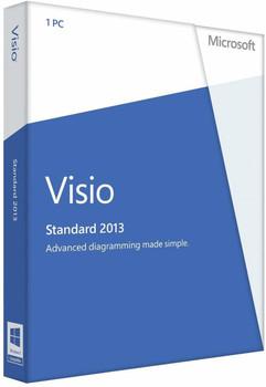 Microsoft Visio Standard 2013, 32/64 Bit, Full Retail Version, Instant Download