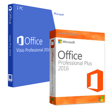 Office Professional 2016 + Visio Professional 2016 Bundle