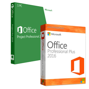 Office Professional 2016 + Project Professional 2016 Bundle