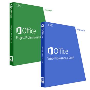 Project Professional 2016 + Visio Professional 2016 Bundle
