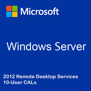 Windows Server 2012 Remote Desktop Services - 10 User CALs