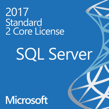 Microsoft SQL Server 2017 Standard - 2 Core - Instant License