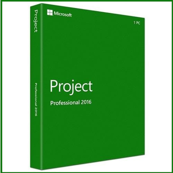 Microsoft Project Professional 2016, 32/64 Bit, Full Retail Version, Instant Download