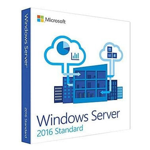Microsoft Windows Server 2016 Standard, 2 Core, License