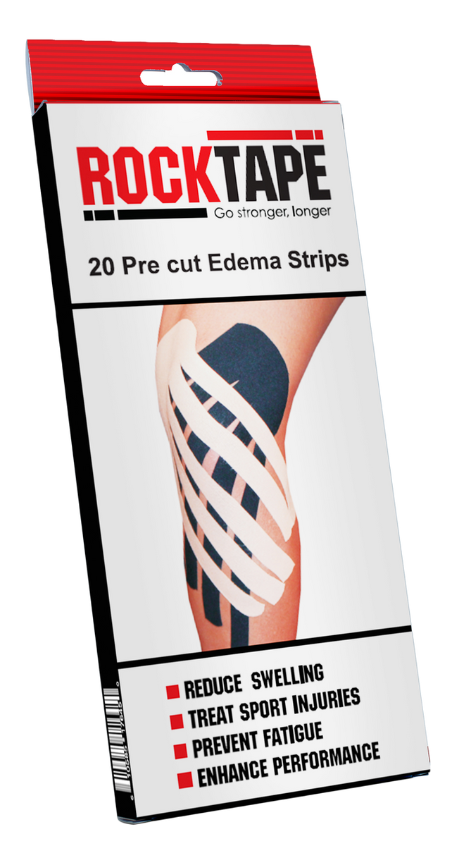 Precut Edema Strips - Black