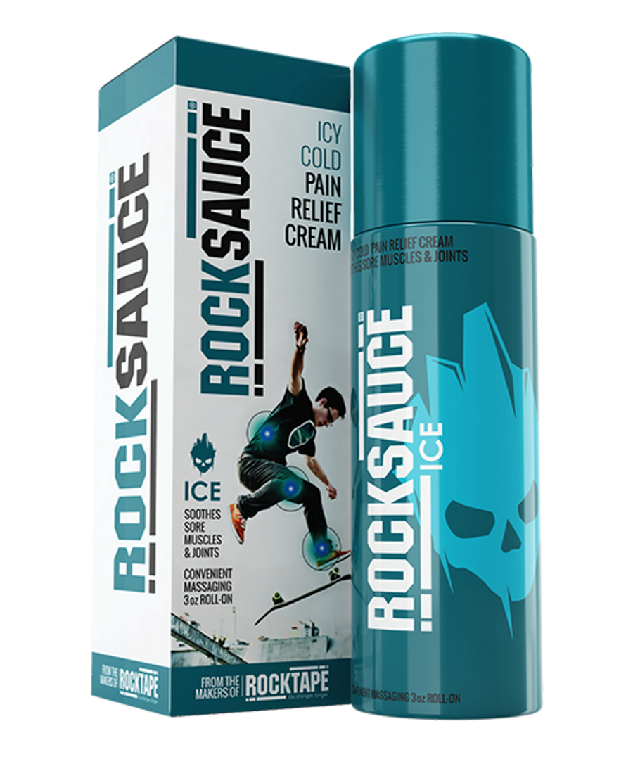 RockSauce Ice 3oz - Pain* Relieving Gel