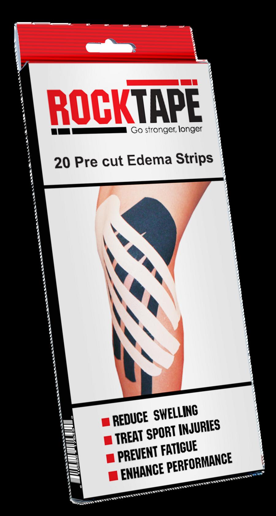 Precut Edema Strips - Black