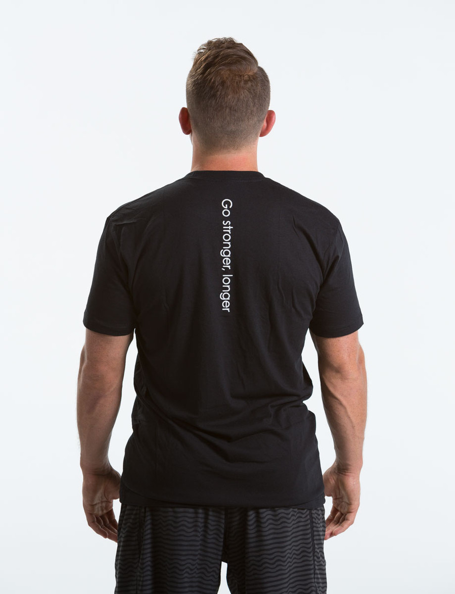 Men's Black Logo Tee