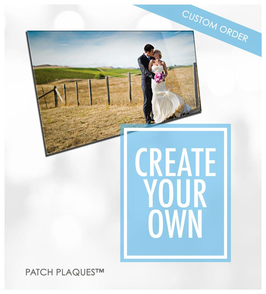 Custom Acrylic Photo Print - Weddings | Wood & Acrylic!