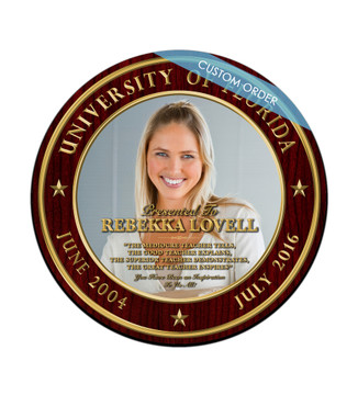 CUSTOM RECOGNITION PLAQUE (ROWMD1) - PERSONALIZED