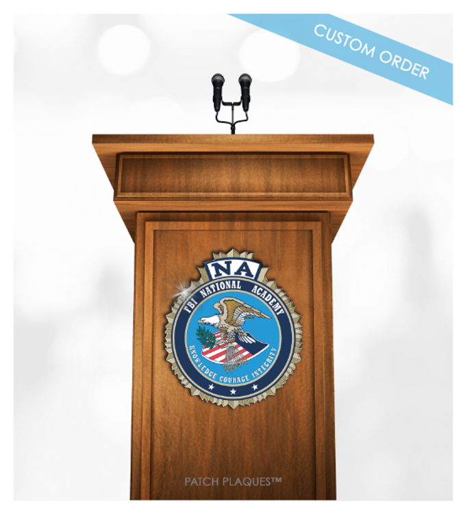 CUSTOM PODIUM PLAQUE (Government)