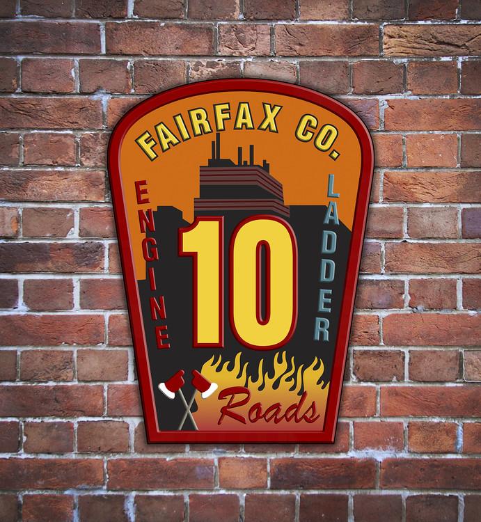 CUSTOM OUTDOOR SIGN (Fire Rescue & EMS)